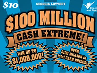 Ga lottery jumbo bucks prizes for games