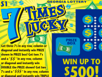 Ga lottery instant games top prizes claimed